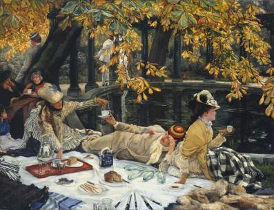 Holyday c.1876 James Tissot 1836-1902 Purchased 1928 http://www.tate.org.uk/art/work/N04413